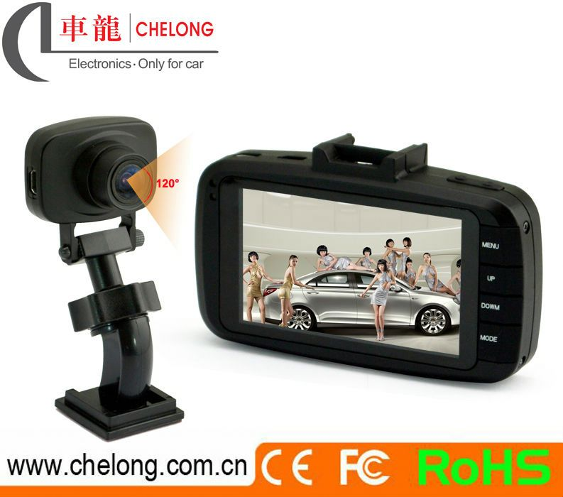China Best Seller 3.0inch GPS G-sensor 1080p accident car sale