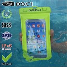 for iphone5 pvc waterproof cell phone pouch cover