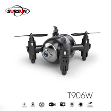 Newest Arrival ! T906W 2.4G mini air drone Intruder UFO with Wifi Real time 0.3MP Camera