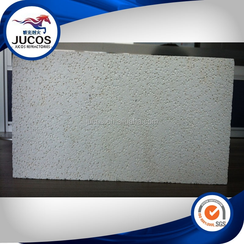 cheap 2016 hot sale JM-23 high strength and great thermal shock resistance and slag resistance Insulating mullite bricks