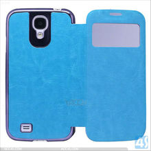 For Samsung Galaxy S4 Flip Skin Leather Cover P-SAMI9500CASE145