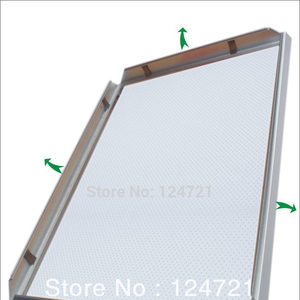 Quick clip notice board snap frame beveled opti frame a4