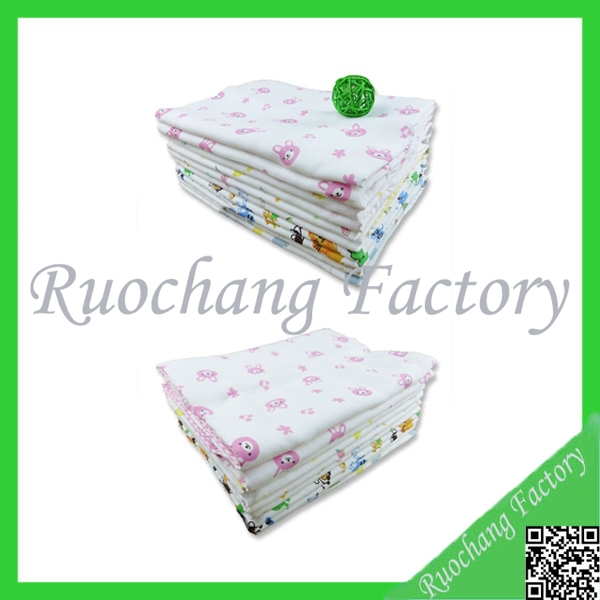 CMYK printed baby bath towel OEM 100% cotton bath towel