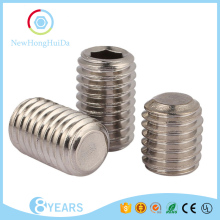 Stainless Steel No Head Cup Point Hexagon Fixing Screw Hex Socket Thread Hollow Bolt Spring Set Headless Screw