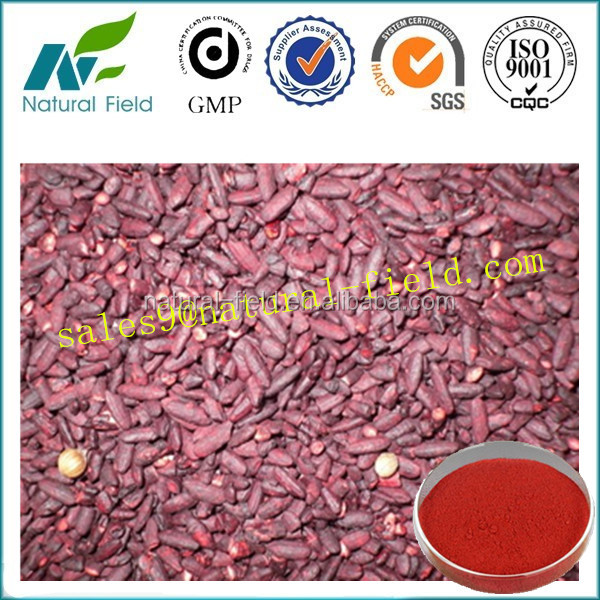manufacturer supply organic red yeast rice