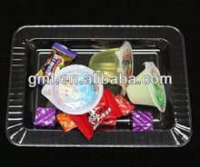 2013 new product take away plastic plate with cover