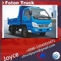 Foton Diesel Van,Mini Truck With Cargo Box