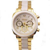 Relogio Feminino 2016 Top Brand Women Watches High Quality Gold Geneva Fashion Casual mix band new geneva watch