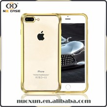 Manufacturer wholesale electroplated TPU phone case for iphone