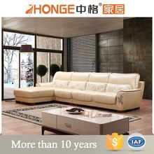 french provincial furniture artistic genuine leather sofa set