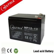 12V 12AH battery VRLA Battery for Scooter