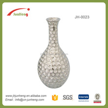 home decor electroplating ceramicvase decoration, abstract home decor, flower vase with holes