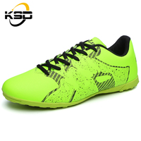 2016 NEW high quality comfortable breathable rubber sole sport football shoes for men