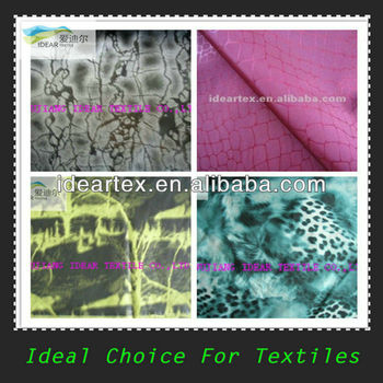 Polyester Printed Memory Fabric For Windcoat