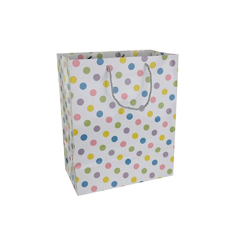 Professional made simple design small paper gift bags