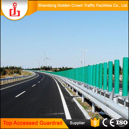 Top Accessed Guardrail Supplier / Anti-rust highway fence used road barrier highway guardrail reflector