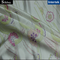 14mm Digital print silk twill fabric LOW MOQ