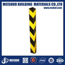 1000mm round corner guards safety rubber wall