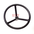 pipe spokes welding handwheel with diameter of 14'' Manual valve hand wheels manufacturers
