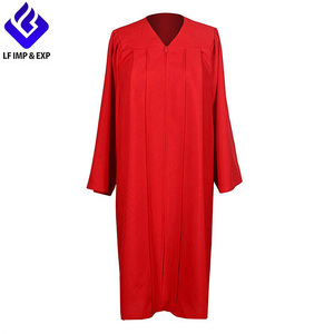 Graduation Choir Robe - Adult Church Robe Matte Red