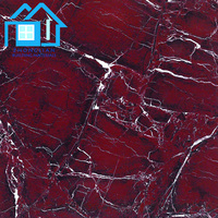 italian composit red white pink blue floor broken marble tile