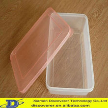 3000ML food grade safety commercial plastic food container supplier