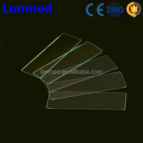 Disposable NO.7101 Ground Edges Microscope Glass Slide