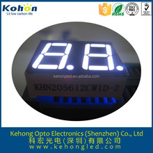 0.56 inch 2 digits white 7 segment led numeric display for air comditioner timer