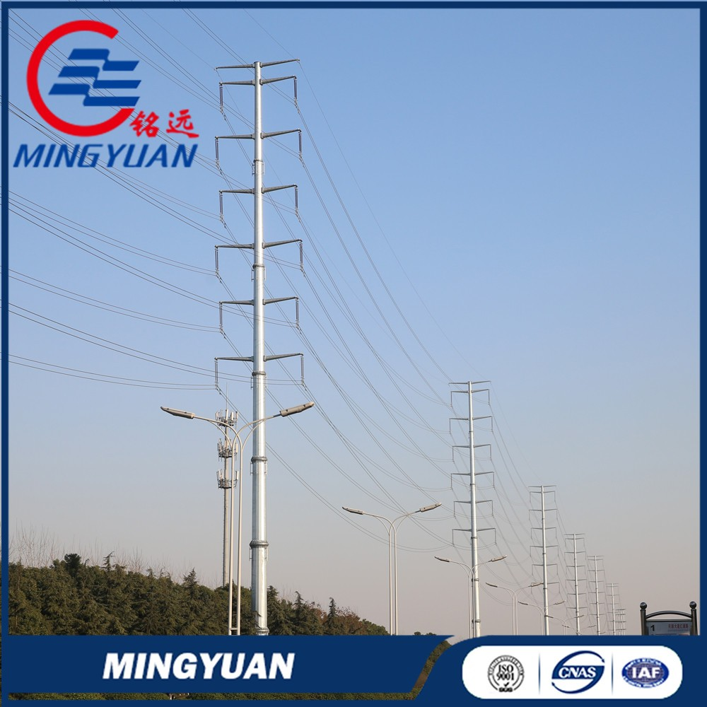electric transmission steel pipe tower