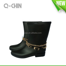 PVC Sex Lady Horse riding boots for women wellies wellingt