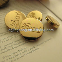 Custom Gold Sewing Metal Button