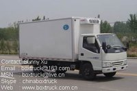JMC Refrigerated truck