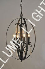2013 new product oval-shap chandelier for interior decoration made in china alibaba
