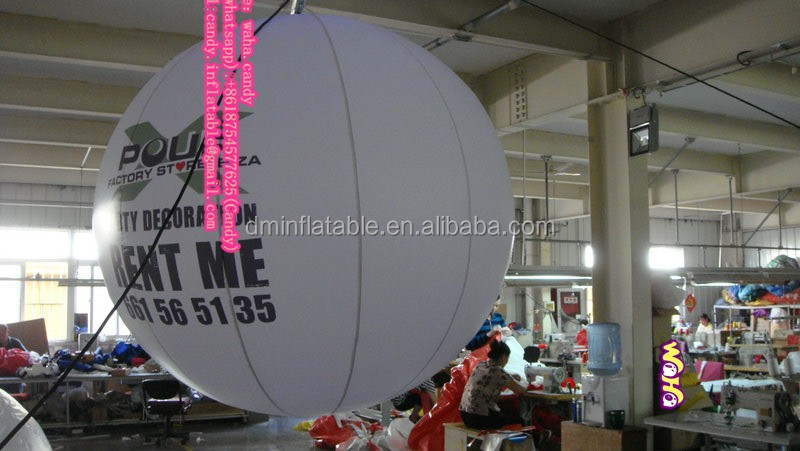 2016 Hanging decoration inflatable balloon , inflatable ball for advertising/promotion C-239