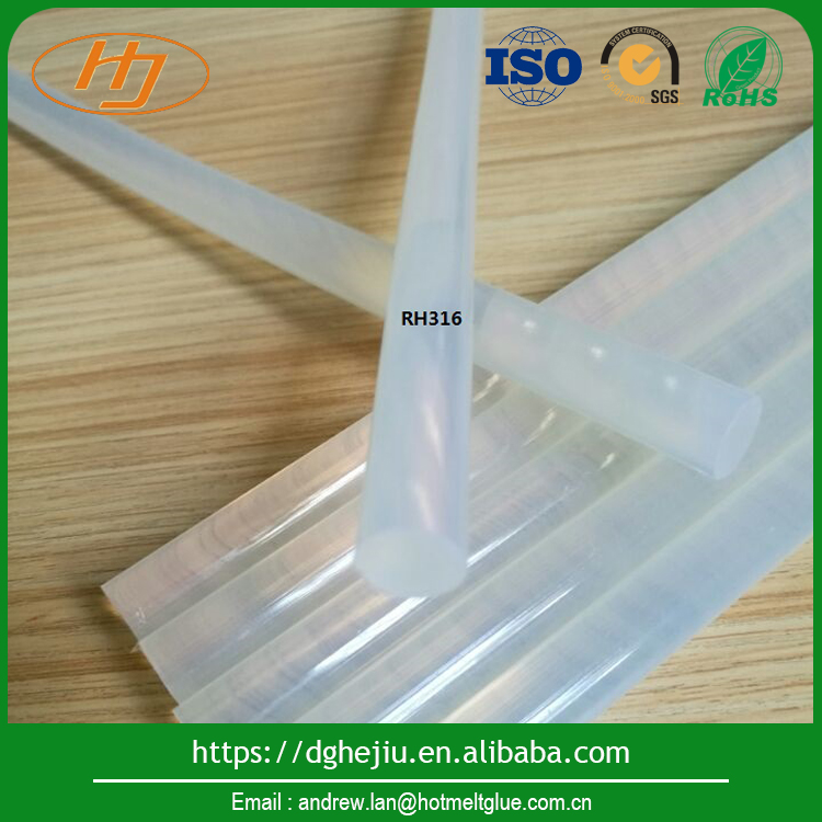 Factory mdf edge bands transparent hot melt glue sticks with competitive price