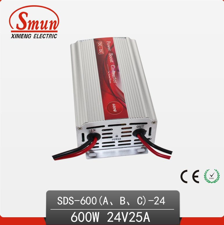 Smun 600W 12VDC-24VDC DC to DC Converter SDS-600A-24