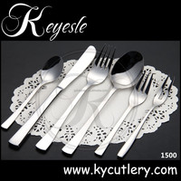 silver-cutlery-set,portable stainless steel spoon chopsticks fork