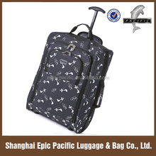 "18"" EVA On Wheeled Bags Cabin Size Ultra-light Weight For Promotional"