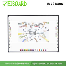 Hot sale electronic smart 4 touch 82 inch optical interactive whiteboard intelligent board for education