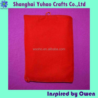 Mobile phone bags & cases drawstring velvet pouch