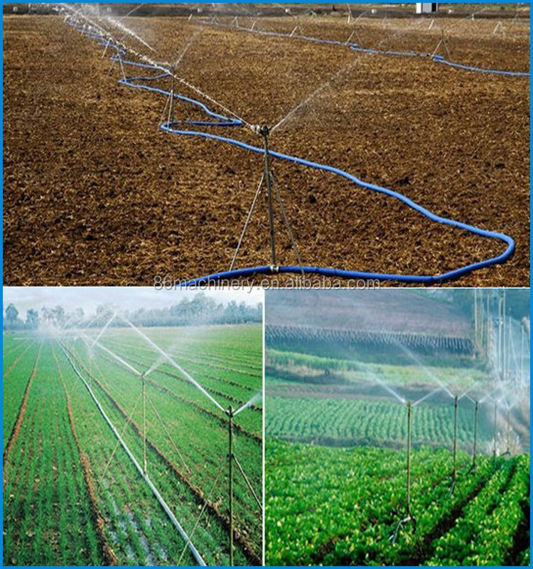 Portable Mobile Farm Water Sprinkler Irrigation Systems