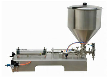 50-1000ml Single Head Cream Pneumtic Filling Machine