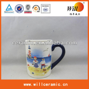 ceramic tumbler,ceramic gift item,mug with handle