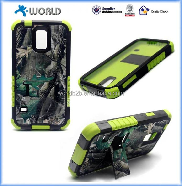 Hot Hard Plastic Protective Cases for Samsung Galaxy S5 i9600 2 in 1 cases