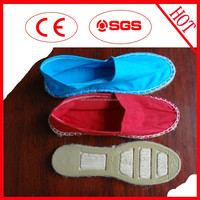 Environmentally-friendly materials durable espadrille mens sneakers