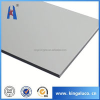 aluminum composite panel outdoor use wall cladding/marble finish