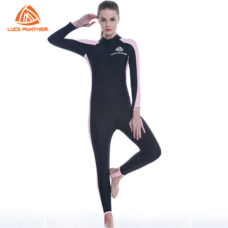 Sports Suits Women's Surfing Wetsuits Long Sleeve Diving Suit  Rash Guards Jumpsuit Swimming Clothing