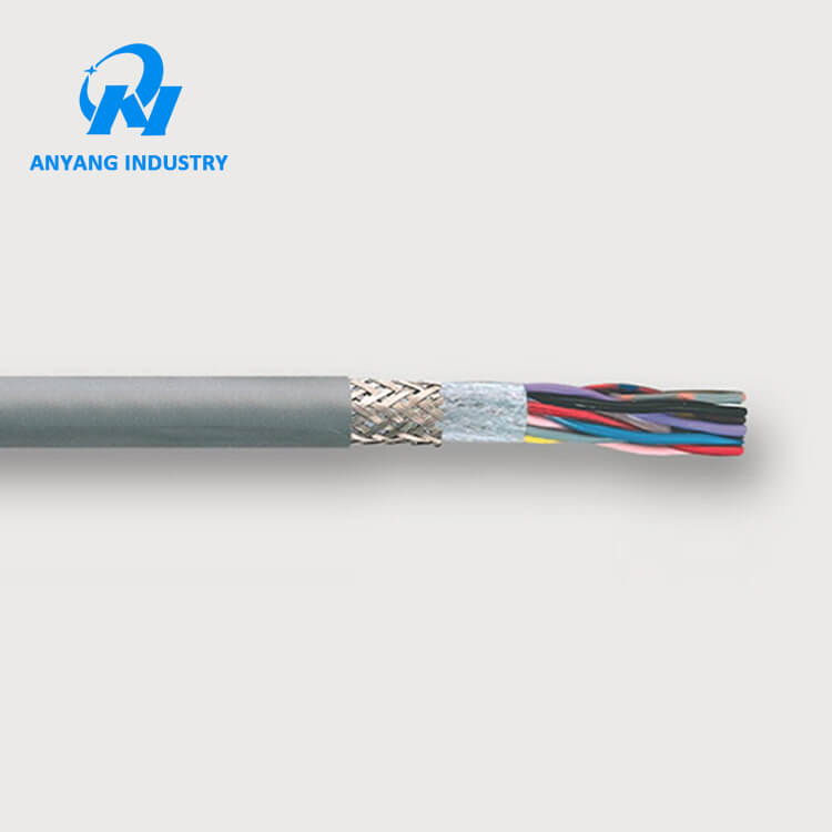 Trvvp Pvc Flexible Shielded 30 Cores 0.35mm2 22awg Copper Wire Cable ...