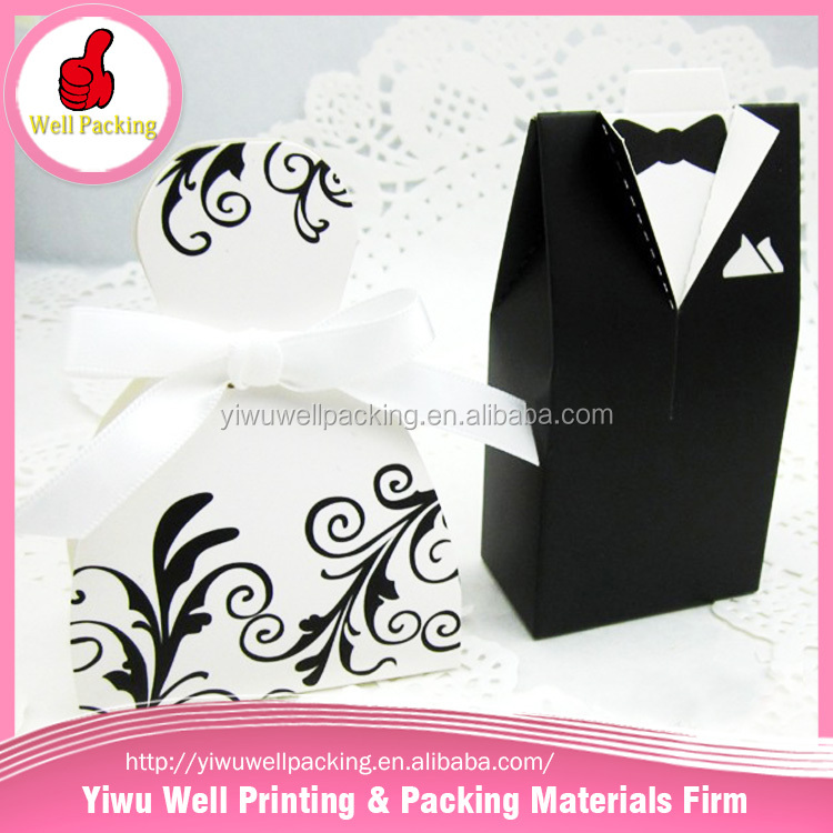 Wholesale best selling products wedding candy box,art paper celebration candy box,offset printing paper candy box