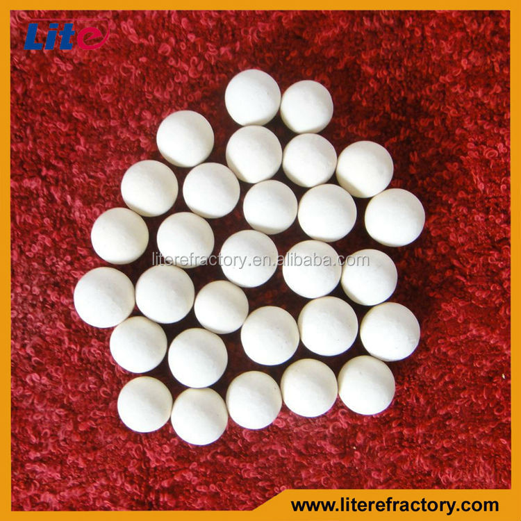 Regenerative and Excllent Ceramic Balls for Hot Blast Stove/heating furnace/glass kiln